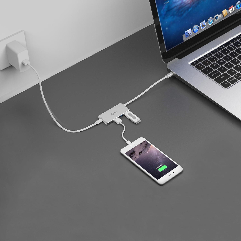 C31HUB3PD | i-tec USB-C HUB 3 Port + Power Delivery | i-tec