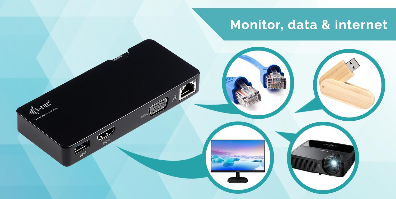 U3TRAVELDOCK | i-tec USB 3 0 Travel Docking Station Advance